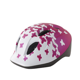 MET Super Buddy Kinderhelm pink butterflies